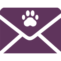 dog grooming mail icon